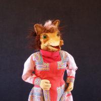 Marioneta de madre loba