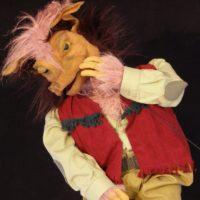Marioneta de el lobo feroz