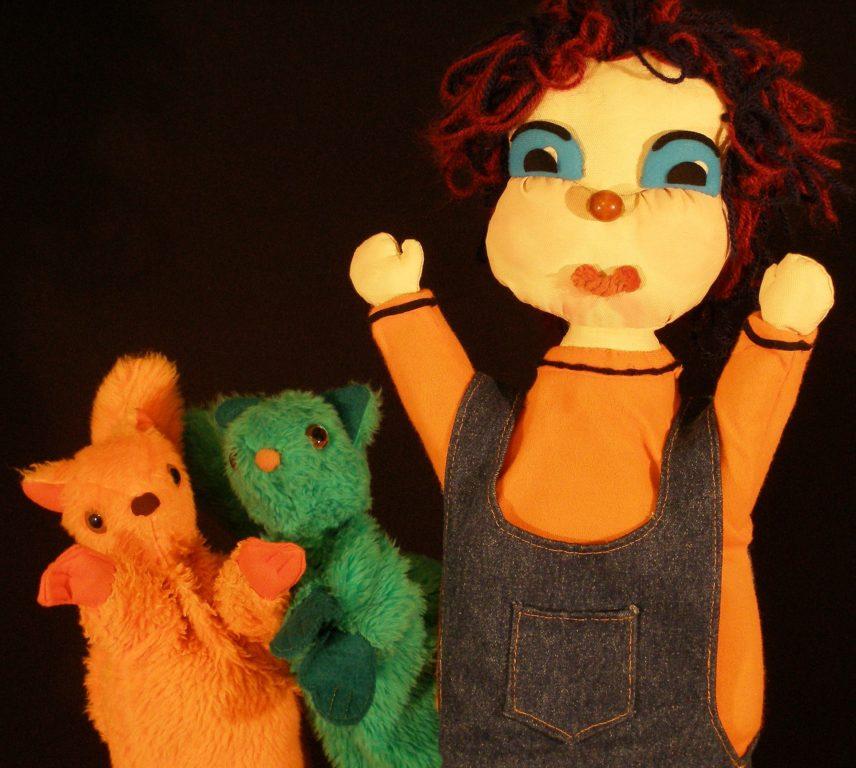 Marioneta de Pablo con ardillas