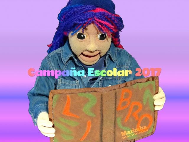 Marioneta campaña escolar