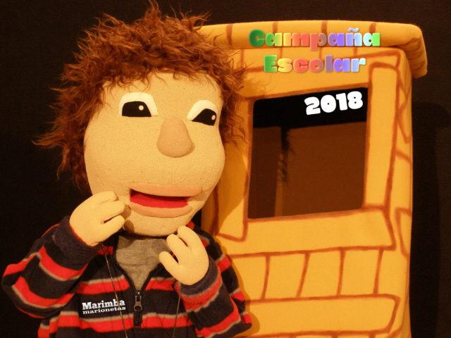 Marioneta de campaña escolar 2018