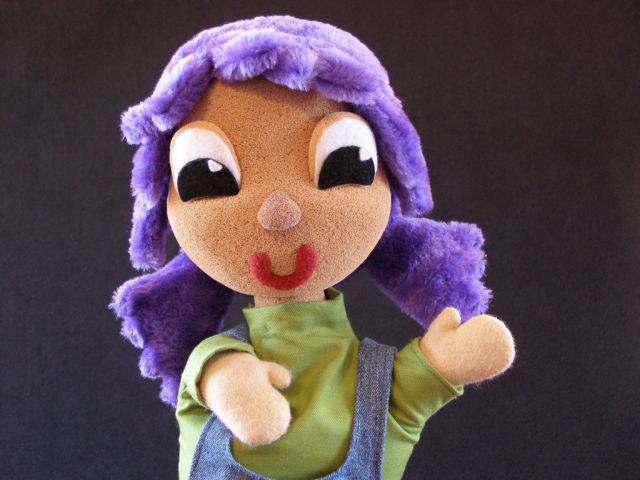 Marioneta de Pulgarcita