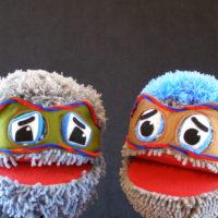 Marionetas representando a pelusas